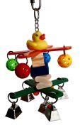 Spin Ringer Parrot Toy
